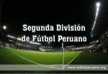 Resultados y Fixture Segunda División de Fútbol Peruano 2016