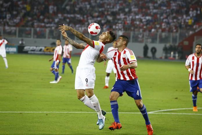Perú 4-1 Paraguay Eliminatorias 2018