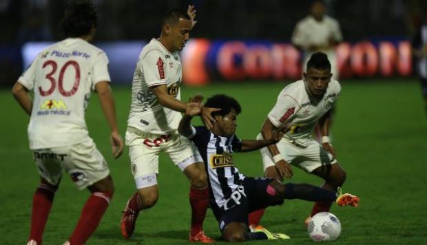 Clásico de fútbol Peruano 2017