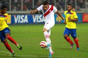Perú vs Ecuador en vivo