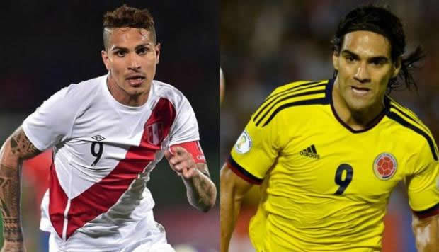 Perú vs colombia en vivo