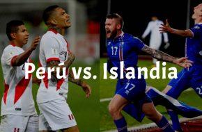 Perú vs Islandia en vivo