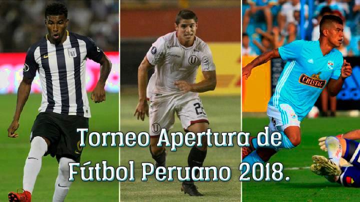 Torneo Apertura Fútbol Peruano 2018