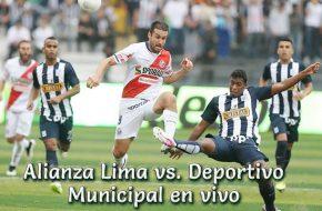 Alianza Lima vs. Deportivo Municipal en VIVO Torneo Apertura 2018 este Martes 5 de Junio 2018