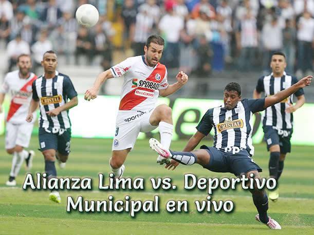 Alianza Lima vs. Deportivo Municipal en vivo