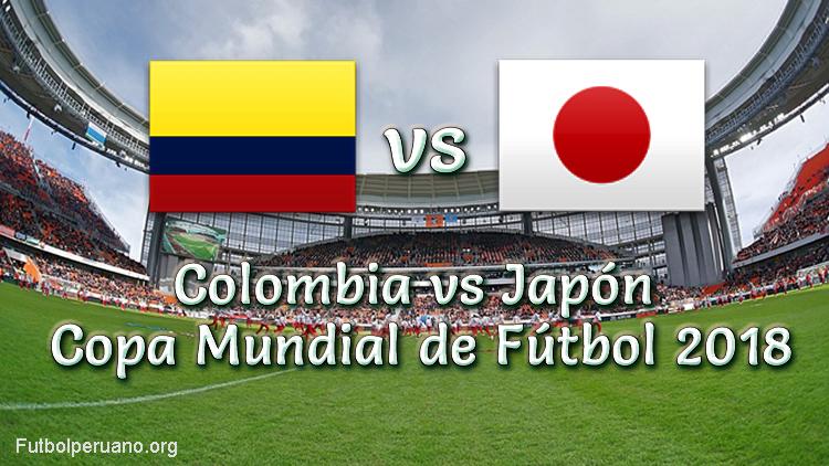 Colombia vs Japón en vivo Copa Mundial 2018