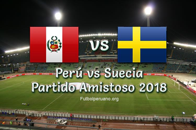 Perú vs Suecia en vivo