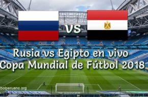 Rusia vs Egipto en vivo Online Copa Mundial 2018