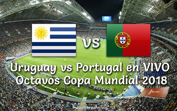 Uruguay vs Portugal en vivo Copa Mundial 2018