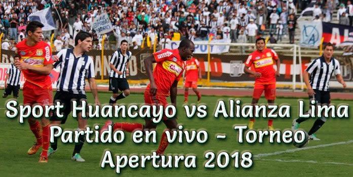 Sport Huancayo vs Alianza Lima en VIVO