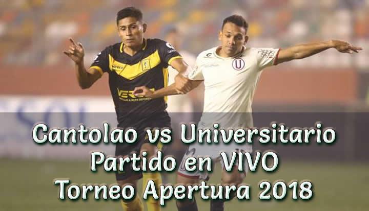 Cantolao vs Universitario en VIVO