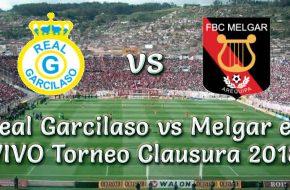 Real Garcilaso vs Melgar en VIVO Torneo Clausura 2018