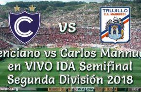 Cienciano vs Carlos Mannucci en VIVO Semifinal Segunda División 2018