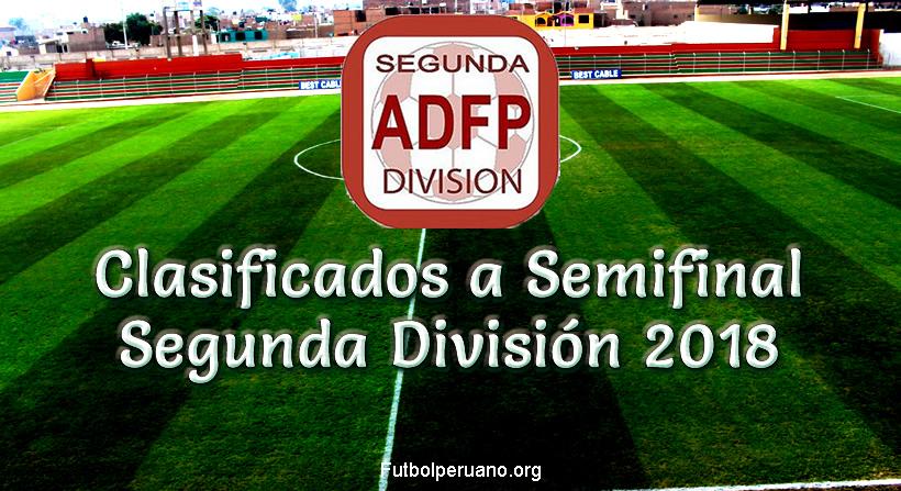 Resultados de Octavos de Final Segunda División 2018