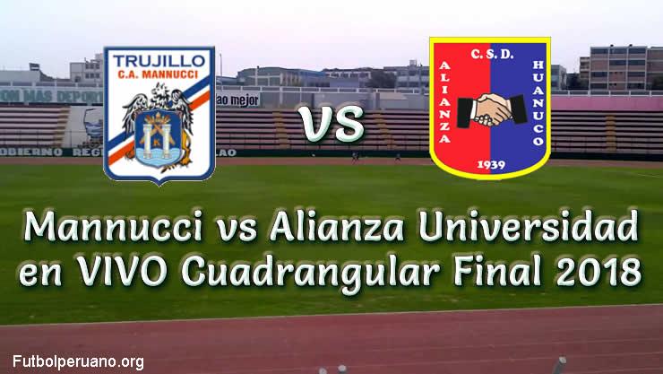 Cienciano vs Santos en VIVO Fecha 2 Cuadrangular Final 2018