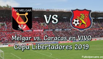 Melgar vs Caracas en VIVO y Directo Copa Libertadores 2019