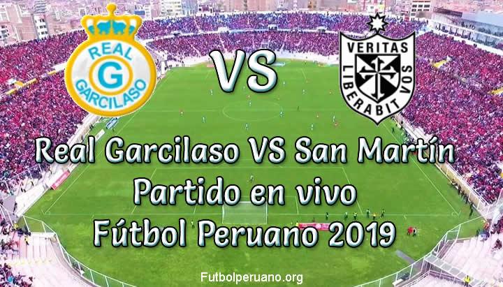 Real Garcilaso vs San Martín en VIVO y Directo Fútbol Peruano 2019