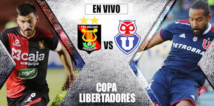 U. de Chile vs Melgar en vivo Copa Libertadores 2019