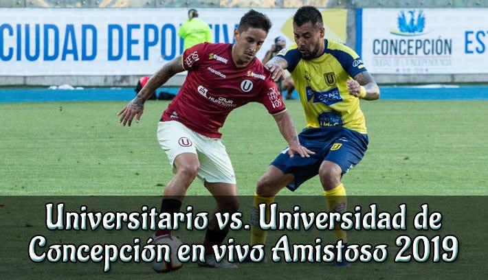 Universitario vs. Universidad de Concepción en VIVO