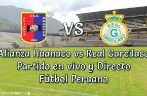 Alianza Huanuco vs Real Garcilaso en VIVO y Directo Futbol Peruano
