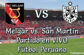 Melgar vs san martín en vivo Futbol Peruano