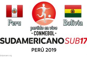 Peru vs Bolivia Sudamericano Sub-17 en vivo