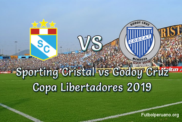 Sporting Cristal vs Godoy Cruz en vivo Copa Libertadores 2019