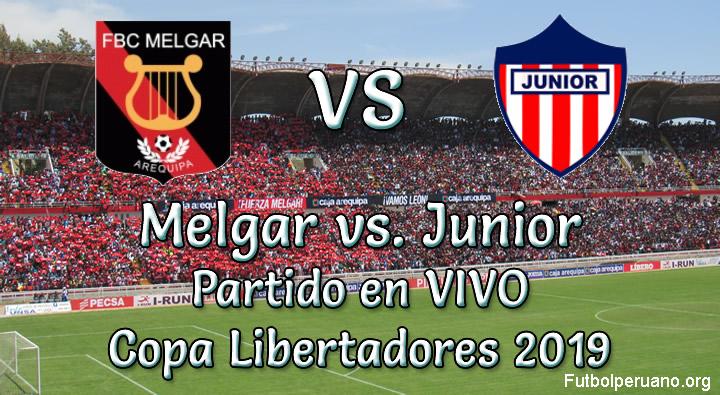 Melgar vs Junior en vivo Copa Libertadores 2019