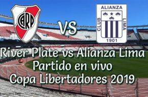 River plate vs Alianza Lima en vivo Copa Libertadores 2019