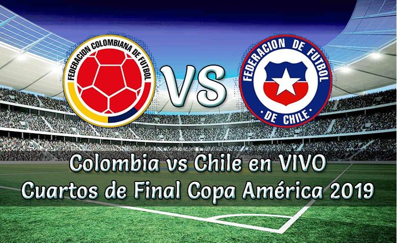 Colombia vs Chile en vivo Copa América brasil 2019