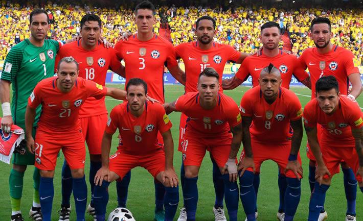 Selección de fútbol chile