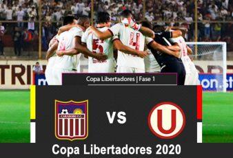Universitario vs Carabobo en VIVO Copa Libertadores 2020